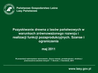 Kształtowanie się powierzchni lasów zarządzanych przez PGL Lasy Państwowe w latach 1967-2010