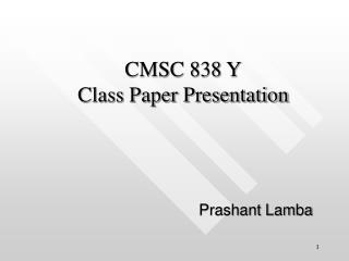 Prashant Lamba