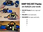 KMP RIC-RIT Packs  are built for your needs.