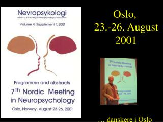Oslo,  23.-26. August 2001
