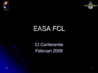 EASA FCL