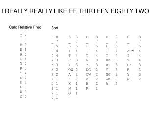 I REALLY REALLY LIKE EE THIRTEEN EIGHTY TWO
