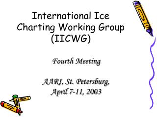 International Ice Charting Working Group (IICWG)