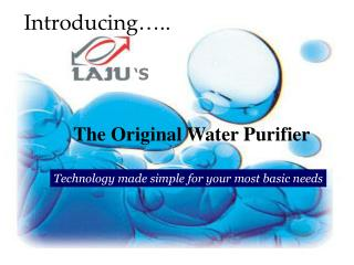 The Original Water Purifier