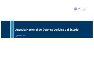 Agencia Nacional de Defensa Jurídica del Estado