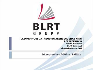 24.september 2009.a. Tallinn