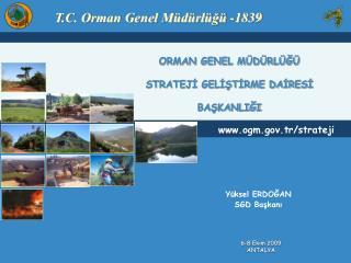 ORMAN GENEL M D RL G   STRATEJI GELISTIRME DAIRESI  BASKANLIGI