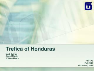 Trefica of Honduras