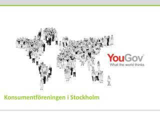 Konsumentf�reningen i  Stockholm