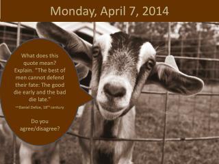 Monday, April 7, 2014
