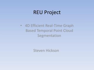 REU Project