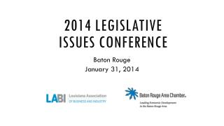 2014 Legislative Issues Conference