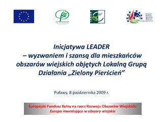 Puławy, 8 października 2009 r.