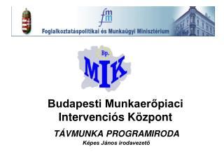 Budapesti Munkaerőpiaci Intervenciós Központ
