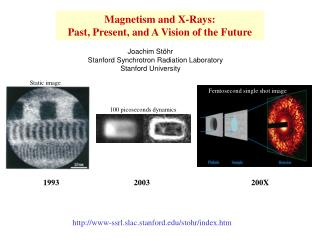 Magnetism and X-Rays:  Past, Present, and A Vision of the Future