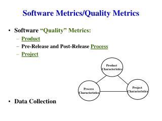 Software Metrics/Quality Metrics