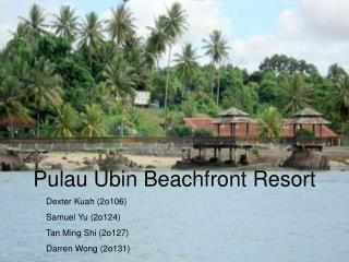 Pulau Ubin Beachfront Resort