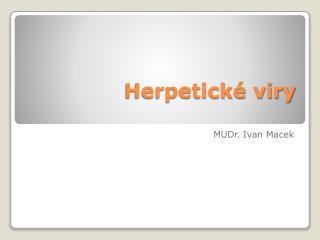 Herpetické viry