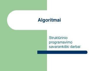 Algoritm ai
