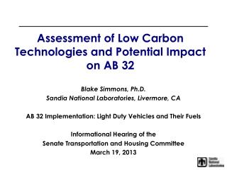 Biofuels Update