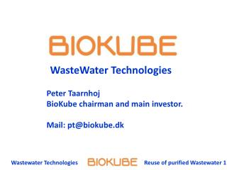 Wastewater Technologies