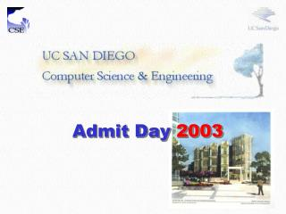 Admit Day  2003