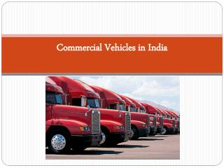 Commercial Vehicles in India