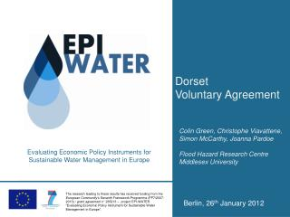 Dorset Voluntary Agreement