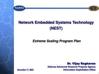Dr. Vijay Raghavan Defense Advanced Research Projects Agency Information Exploitation Office