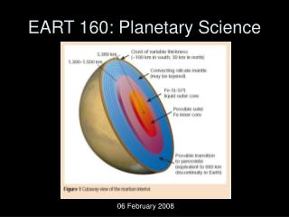 EART 160: Planetary Science