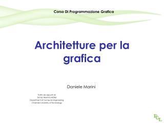 Architetture per la grafica