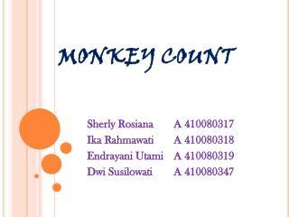 MONKEY COUNT