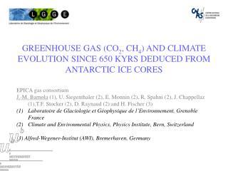 EPICA gas consortium