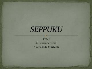 SEPPUKU