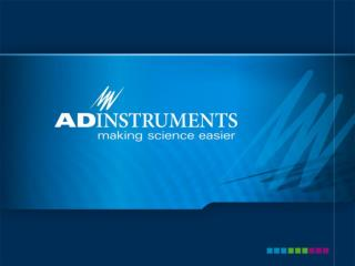 ADInstruments Advanced Features of LabChart