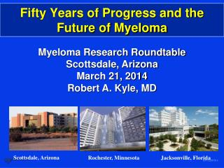 Fifty Years of Progress and the Future of Myeloma