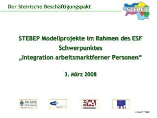 Hintergrund zum Steirischen Beschäftigungspakt