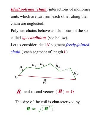 -  end-to-end vector ,  The size of the coil is characterized by