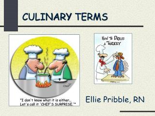 CULINARY TERMS