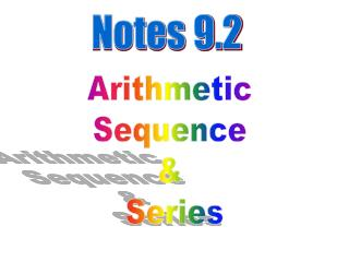 Notes 9.2