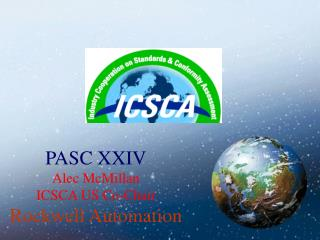 PASC XXIV Alec McMillan ICSCA US Co-Chair Rockwell Automation