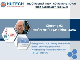 Giảng Viên: Th.S Dương Thành Phết Email: phetcm@gmail  Website: thayphet