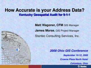 How Accurate is your Address Data? Kentucky Geospatial Audit for 9-1-1