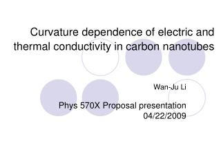 Curvature dependence of electric and thermal conductivity in carbon nanotubes