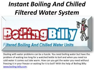 Get Rid Of All Your Water Boiling And Chilling Issues