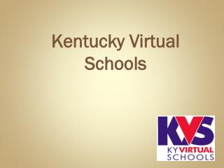 Kentucky Virtual  Schools