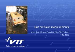 Bus emission measurements