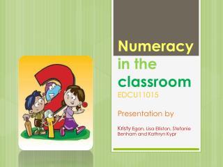 Numeracy in the  classroom EDCU11015