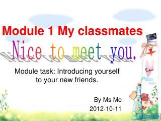 Module 1 My classmates