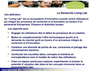 La D�marche Living Lab